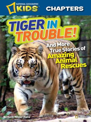 Click this cover for a(n) eBook sample of Tiger in Trouble!.