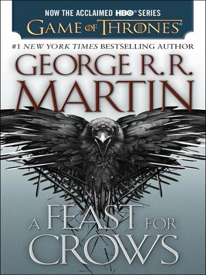 Click this cover for a(n) eBook sample of A Feast for Crows.