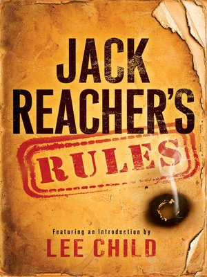 Click this cover for a(n) eBook sample of Jack Reacher's Rules.