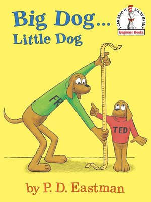 Click this cover for a(n) eBook sample of Big Dog...Little Dog.