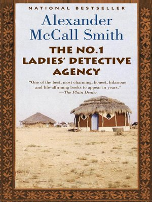 Click this cover for a(n) eBook sample of The No. 1 Ladies' Detective Agency.