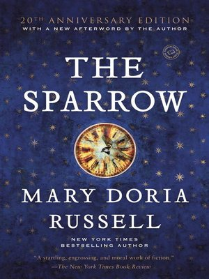 Click this cover for a(n) eBook sample of The Sparrow.