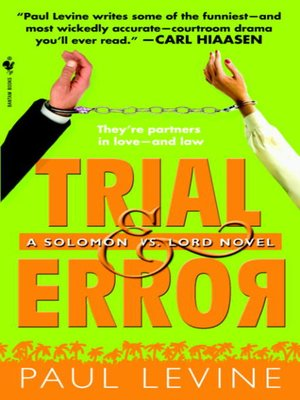 Click this cover for a(n) eBook sample of Trial & Error