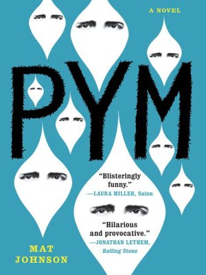 Click this cover for a(n) eBook sample of Pym.