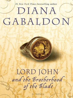 Click this cover for a(n) eBook sample of Lord John and the Brotherhood of the Blade.