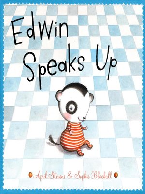 Click this cover for a(n) eBook sample of Edwin Speaks Up.