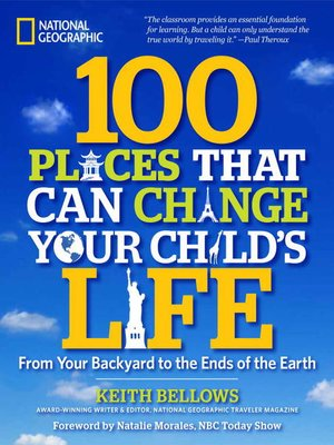 Click this cover for a(n) eBook sample of 100 Places That Can Change Your Child's Life.