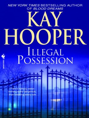 Click this cover for a(n) eBook sample of Illegal Possession.