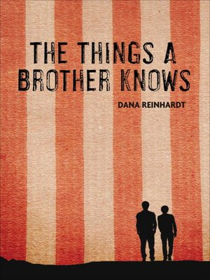Click this cover for a(n) eBook sample of The Things a Brother Knows.