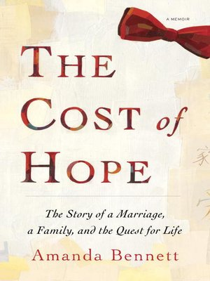 Click this cover for a(n) eBook sample of The Cost of Hope