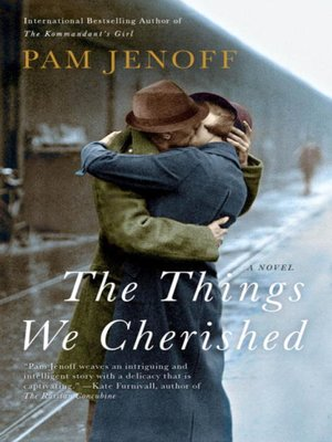 Click this cover for a(n) eBook sample of The Things We Cherished