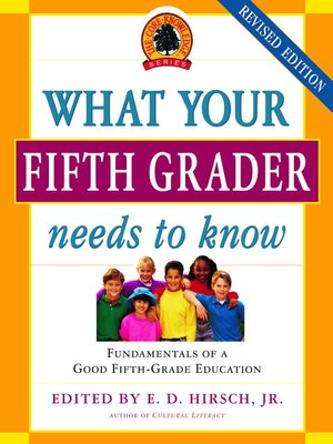 Click this cover for a(n) eBook sample of What Your Fifth Grader Needs to Know