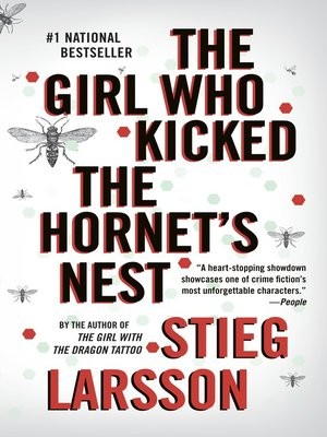 Click this cover for a(n) eBook sample of The Girl Who Kicked the Hornet's Nest.