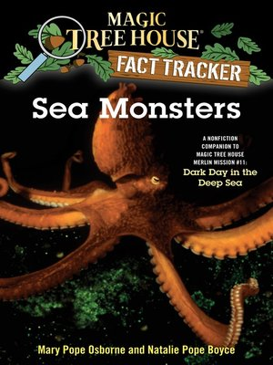 Click this cover for a(n) eBook sample of Sea Monsters