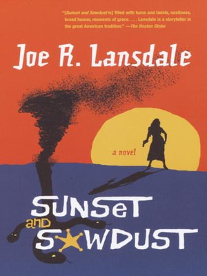Click this cover for a(n) eBook sample of Sunset and Sawdust