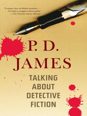 Click this cover for a(n) eBook sample of Talking About Detective Fiction.