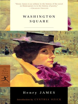 Click this cover for a(n) eBook sample of Washington Square.