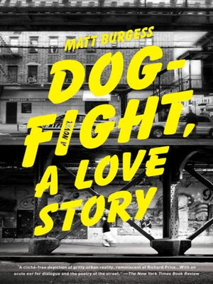 Click this cover for a(n) eBook sample of Dogfight, A Love Story.
