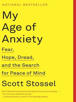 Cover of My Age of Anxiety
