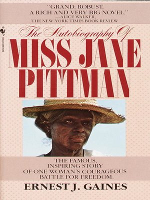 Click this cover for a(n) eBook sample of The Autobiography of Miss Jane Pittman.