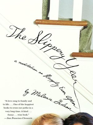Click this cover for a(n) eBook sample of The Slippery Year.