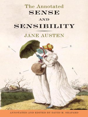 Click this cover for a(n) eBook sample of The Annotated Sense and Sensibility