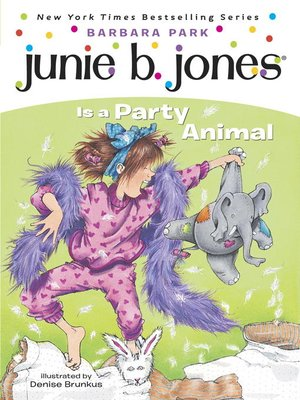 Click this cover for a(n) eBook sample of Junie B. Jones Is a Party Animal
