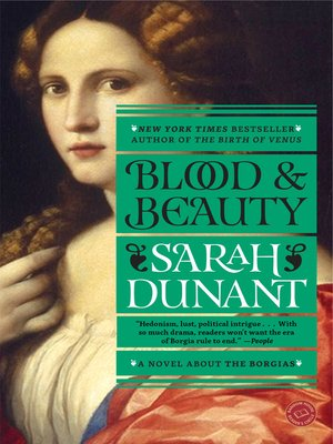 Click this cover for a(n) eBook sample of Blood and Beauty.