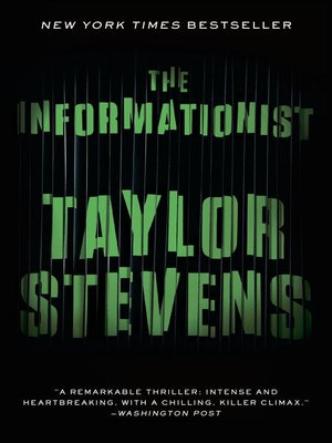 Click this cover for a(n) eBook sample of The Informationist.