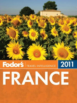 Click this cover for a(n) eBook sample of Fodor's France 2011