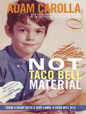 Click this cover for a(n) eBook sample of Not Taco Bell Material.