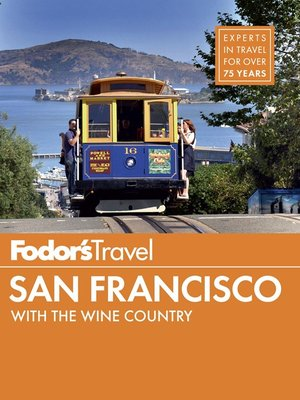 Click this cover for a(n) eBook sample of Fodor's San Francisco 2014