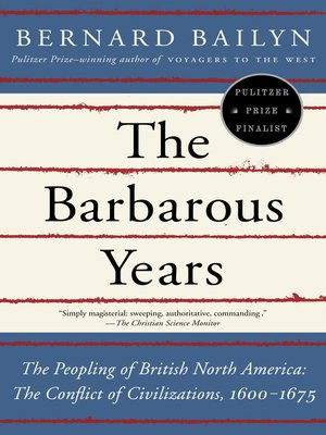 Click this cover for a(n) eBook sample of The Barbarous Years.