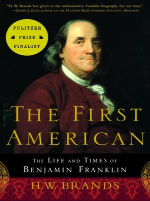 Click this cover for a(n) eBook sample of The First American.