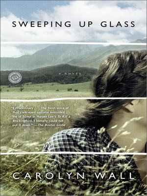 Click this cover for a(n) eBook sample of Sweeping Up Glass
