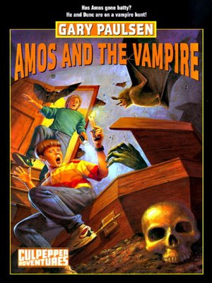 Click this cover for a(n) eBook sample of Amos and the Vampire