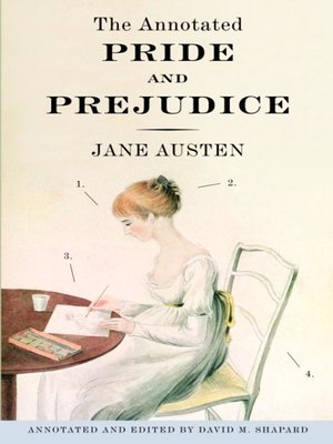 Click this cover for a(n) eBook sample of The Annotated Pride and Prejudice