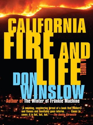 Click this cover for a(n) eBook sample of California Fire and Life.