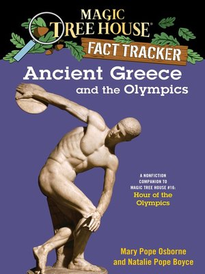 Cover of Ancient Greece and the Olympics