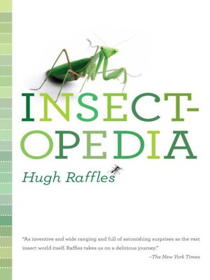 Click this cover for a(n) eBook sample of Insectopedia