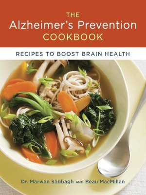 Click this cover for a(n) eBook sample of The Alzheimer's Prevention Cookbook