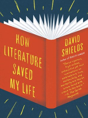Click this cover for a(n) eBook sample of How Literature Saved My Life