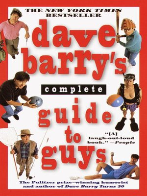 Click this cover for a(n) eBook sample of Dave Barry's Complete Guide to Guys