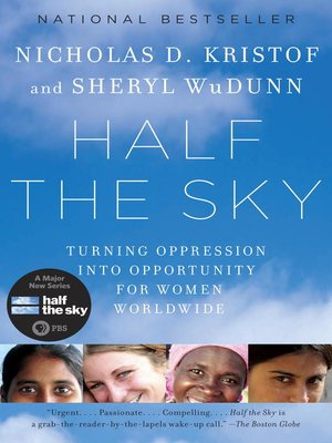 Click this cover for a(n) eBook sample of Half the Sky