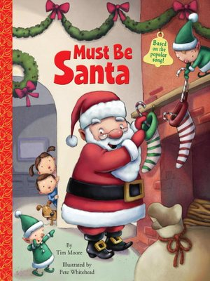 Click this cover for a(n) eBook sample of Must Be Santa.