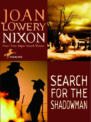 Click this cover for a(n) eBook sample of Search for the Shadowman