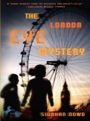 Click this cover for a(n) eBook sample of The London Eye Mystery.