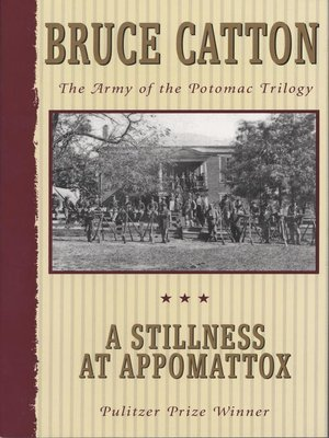 Click this cover for a(n) eBook sample of A Stillness at Appomattox.