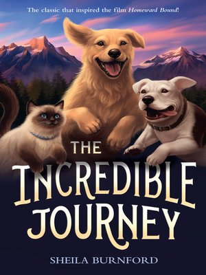 Click this cover for a(n) eBook sample of The Incredible Journey.