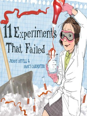 Click this cover for a(n) eBook sample of 11 Experiments That Failed.
